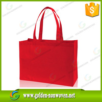 Promotional cheap custom nonwoven bag, eco bag material non woven fabric for nonwoven shopping bag