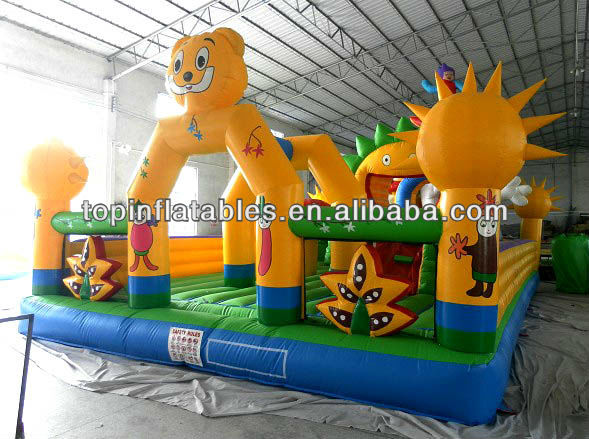 TOP inflatables kids giant inflatable fun city amusement part