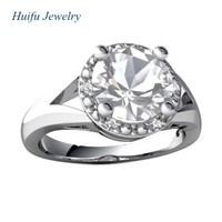 jewelry company big gemstone sample wedding ring designs