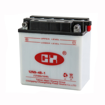 12V 9Ah Everstart Motorcycle Batteries 12N9-4B-1