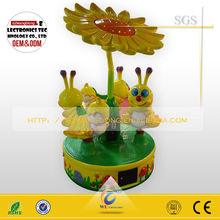 JJ-016 toy game china supplier colorful bee indoor amusement rides sale