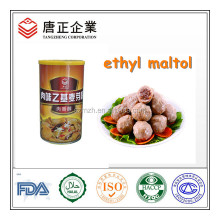High Quality Aroma Enhancer Concentrate Meaty Ethyl Maltol Powder / Crystal