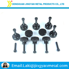 High quality black anodized aluminium machine screw
