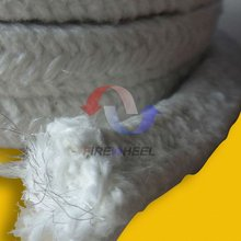Door Seals, Caulking For Ovens, Furnaces and Boilers, Ceramic Fiber Packing Braided Rope