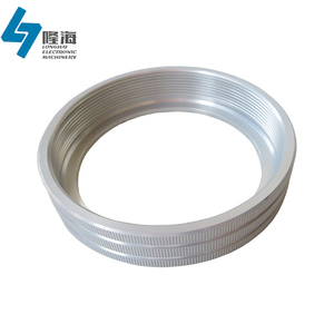 Finely processed precision cnc aluminum ring 30mm, 40mm, 50mm