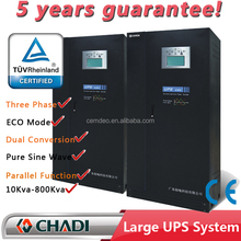 Online Low Frequency Single / Three PHASE UPS 450 KVA 450kva