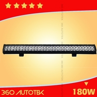 28inch 180W Spot Combo flood off road led tripod work light Bar Offroad 4WD