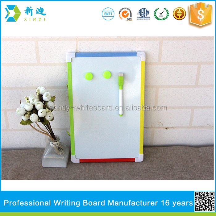 full color small magnetic kids whiteboard and mini kids board