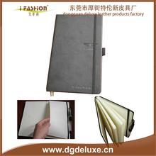 600D PU diary with calculator and pen