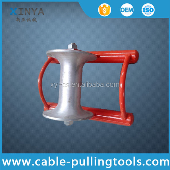 Steel Pulley Wheel For Cable With Frame Form
