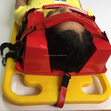 plastic spine board Head Immobilizer