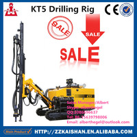 China supplier machine manufacturers kaishan KT5 portable hydraulic drilling machine with spare parts