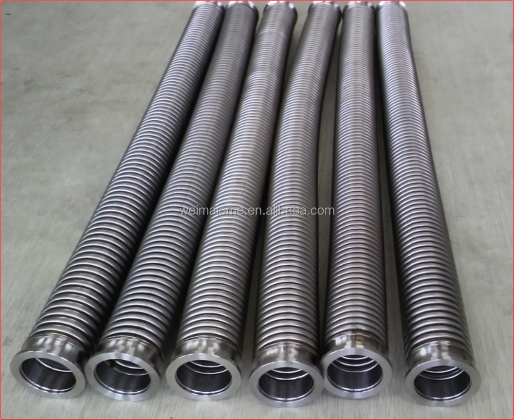Black steel lsaw pipes oil and gas pipeline bellows type