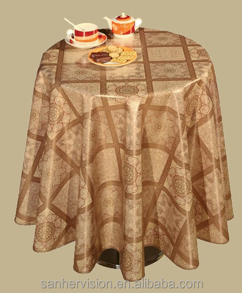 Clear Transparent Plastic Tablecloth in Rolls China Wholesale