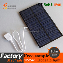 New product solar power bank high efficient USB charger for mobile phone Solar Charger Portable
