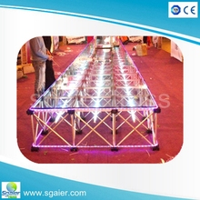 Singapore aluminum used waterproof plywood event stand for islamic wedding favors
