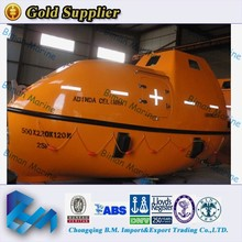 Marine Lifesaving Equipment Sail Enclosed Type Lifeboat For 55 Persons
