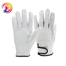 Keystone Thumb Shirred Elastic Back Mens Pigskin Driver Gloves