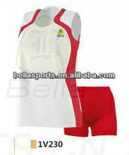 2012 wholesale 100% Polyester Volleyball set for lady wear