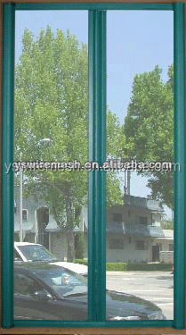 green color window screen