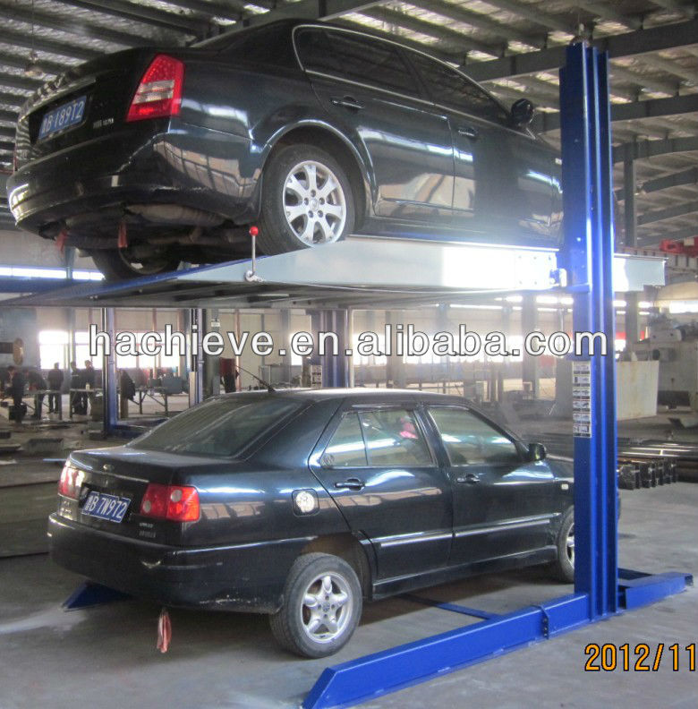 TPP206 hydraulic auto car parking lifts used in home garage