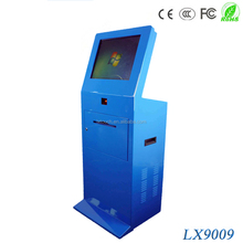 China Manufacturer Health Print Kiosk With Barcode Scanner And A4 Laser Printer