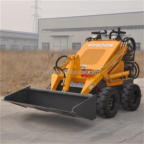 China manufacturer high efficiency electric skid steer loader