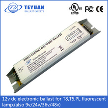 Factory direct sale dc ballast 12v 24v 48v full series for t8 t5