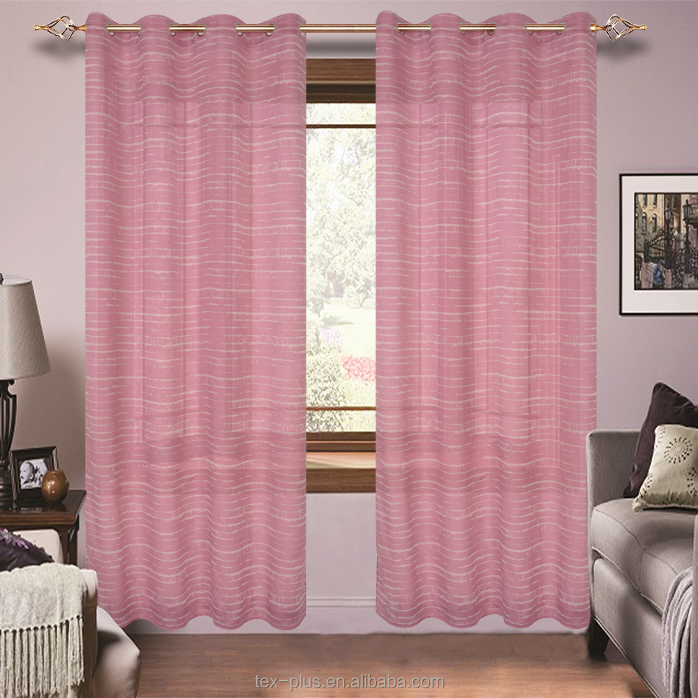 Home Light Weight Organza Decorative Curtain