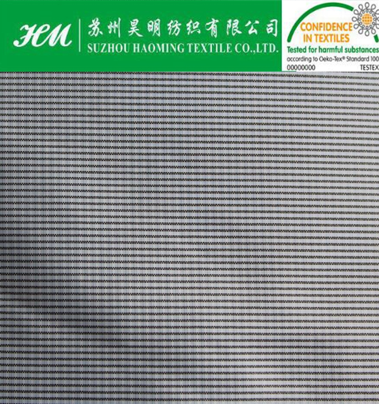 ECO-TEX 380t polyester nylon bubble check fabric
