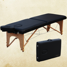 NAUA 2018 wood massage tables 2 sectio for health care