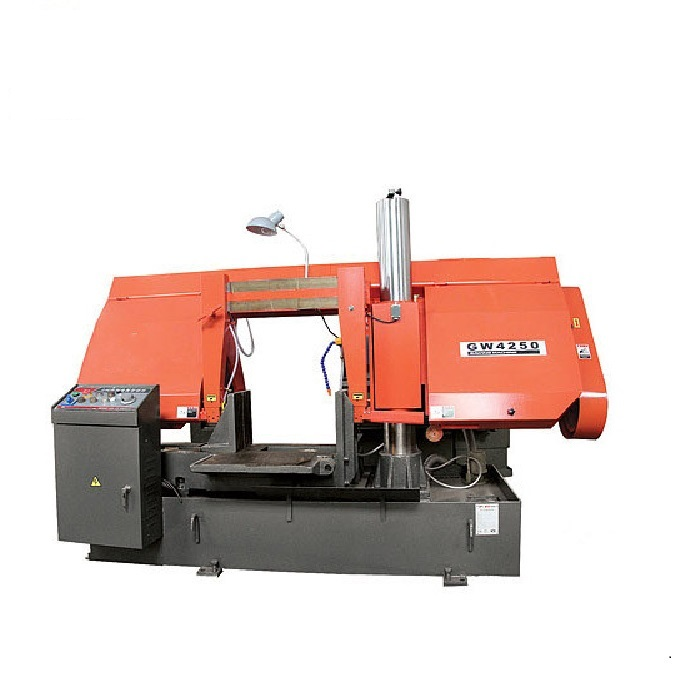 GW4250/70(H-500HA/1) semi auto cutting precision band saw machine for metal cutting