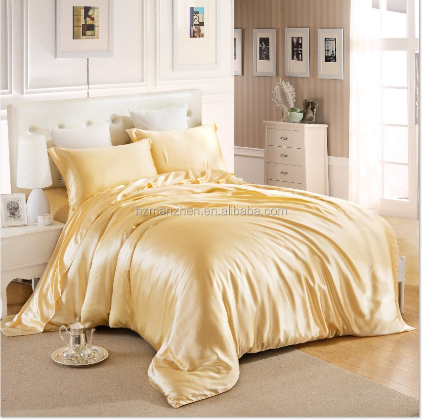 High quality thai silk bedding chinese silk bedding indian silk bedding sets