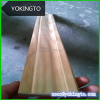 Thin wood molding pine wood moulding