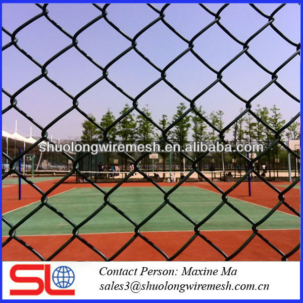 factory galvanized cyclone wire mesh fence (Factory PVC & galvanized)