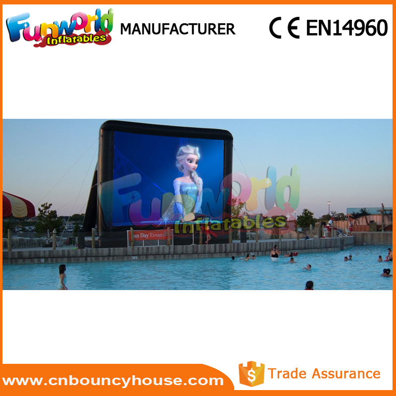 Wholesale movie screen inflatable rear projection screen