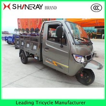 3 wheel cargo motorcycle sidecar tricycle with closed cabin for sale
