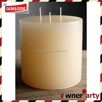 Decorative Wedding Favors Paraffin Wax For Candle