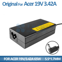 19V 3.42A 65W For acer charger TravelMate TMX483-6691 Laptop pa-1650-86
