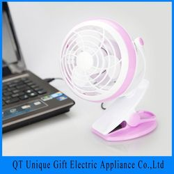 New Inventions In China Laptop With Blue Led Light Freestanding Usb Fan For Nights