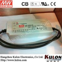 MEANWELL LED Driver 90W 42V constant voltage switching power supply with PFC 1~10V PWM dimmable UL/CB/CE LPF-90D-42
