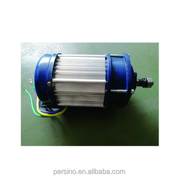 Brushless DC motor and controller for machines and electric vehicles