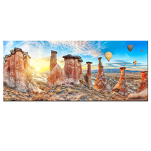 1 Piece Cappadocia Nature Landscape Hot-air Balloon HD Picture Canvas Giclee Painting Wall Decoration