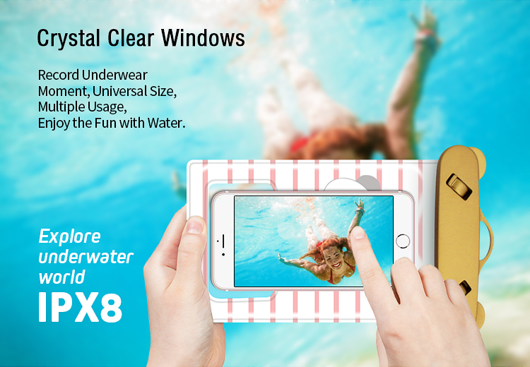 Free sample Waterproof phone case For Iphone7 plus/6s plus/Samsung galaxy s6