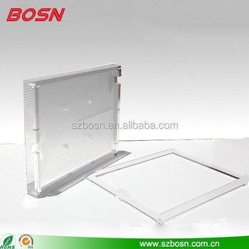 Stylish Acrylic iPad Wall Mount Display , Secure Racks, Plastic Holder