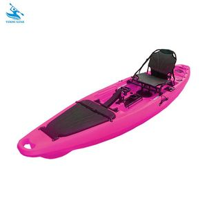 Factory wholesale 3 years warranty rotational molding pedal fishing kayak