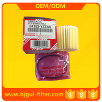 TOYOTA oil filter 04152-YZZA6, TOYOTA auto spare parts