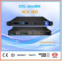 digital terrestrial wireless receiver 4 dvb-t/t2 demodulator ird with CAM/slots COL5844BN