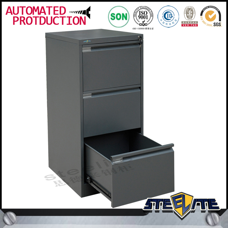 Cheap dubai used furniture 3 drawer office book cabinet from China manufacturer