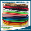 2*0.75 Copper Cloth Covered Wire Vintage Style Edison Light Lamp Cord Grip Twisted Fabric Lighting Flex Electric Cable